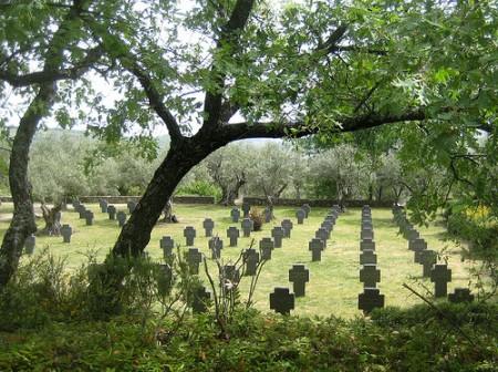 cementerio alemán, cuacos de yuste