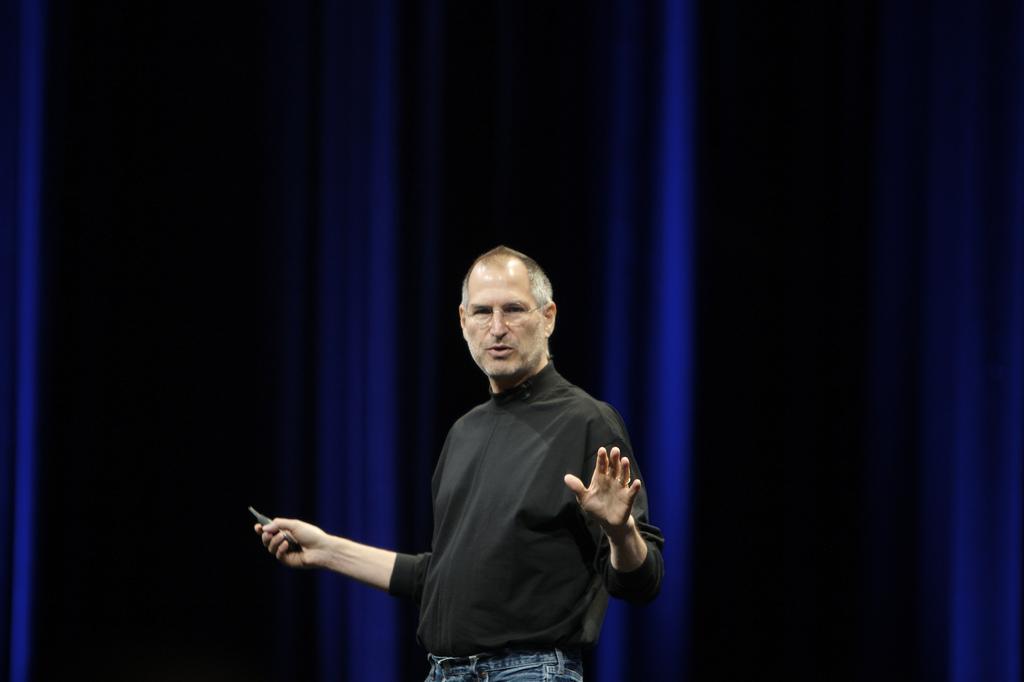 Steve Jobs en la Keynote de la WWDC 2007 en San Francisco