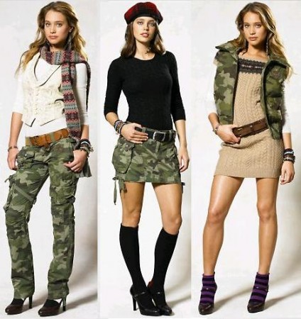 ralph lauren camouflage outfit
