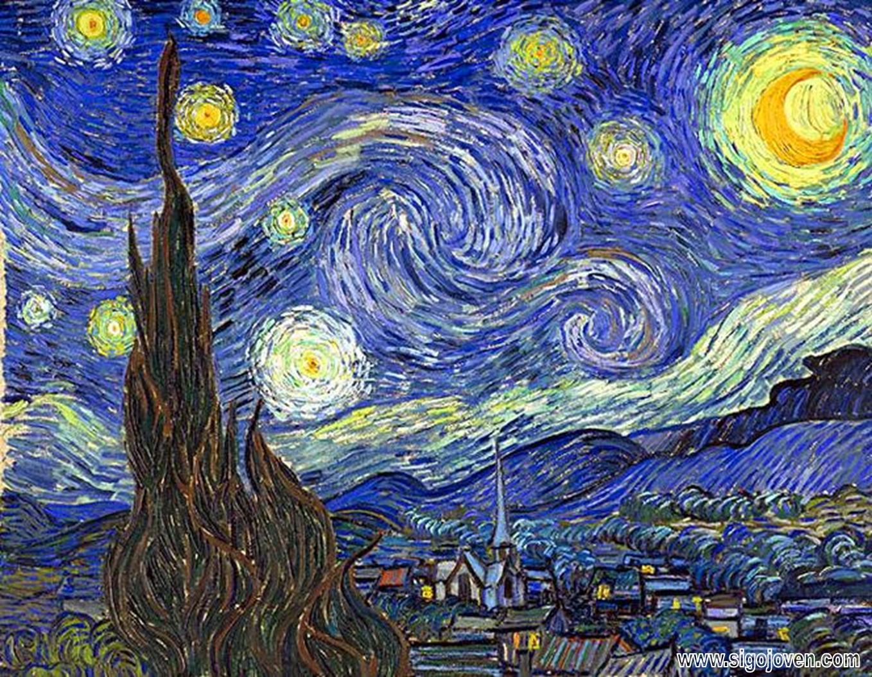 Noche estrellada - Van Gogh