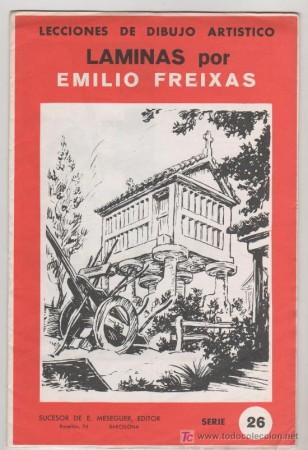 láminas de dibujo Freixas