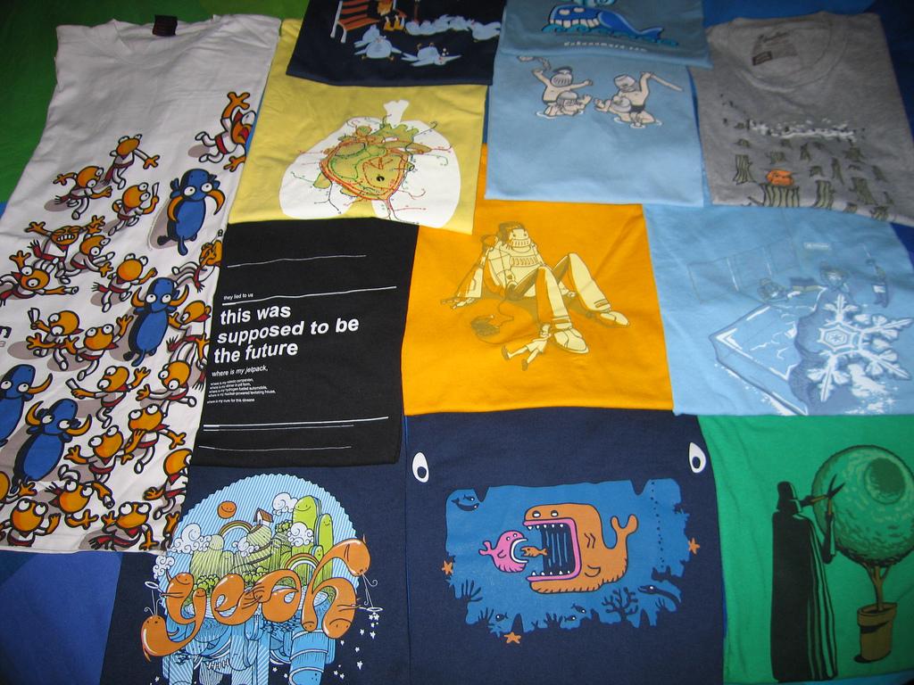 Una docena de webs donde comprar camisetas con diseños divertidos