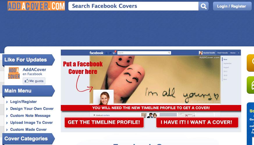 Addacover.com