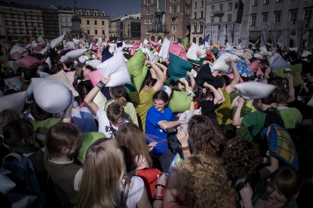 Una docena de flashmobs creativos