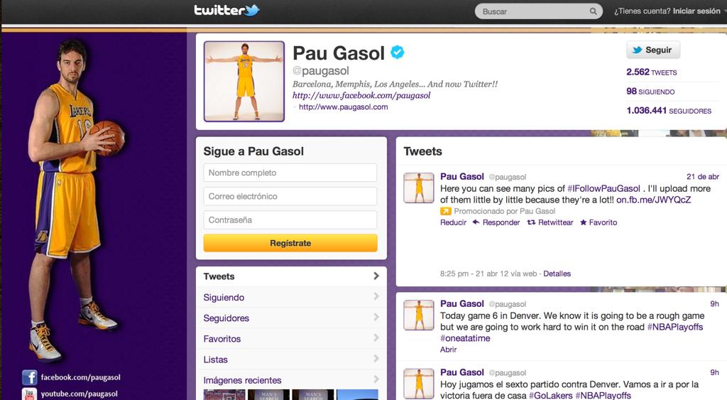 Una docena de cuentas del baloncesto con ñ en twitter que deberías seguir