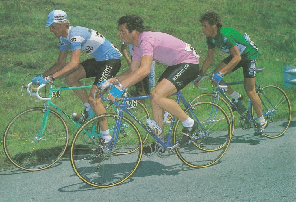 Una docena de espectaculares campeones ciclistas