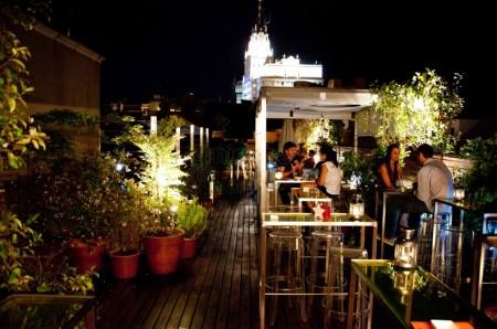 Terraza Hotel de las Letras