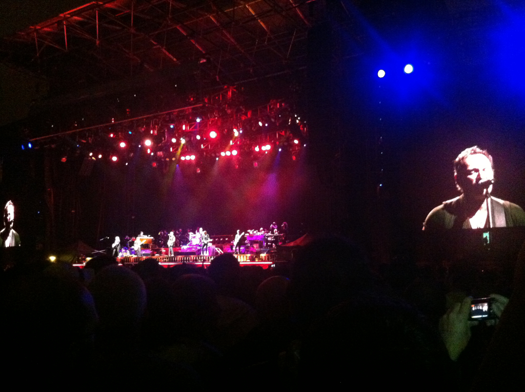 Una docena de momentos inolvidables del concierto de Bruce Springsteen en San Sebastián