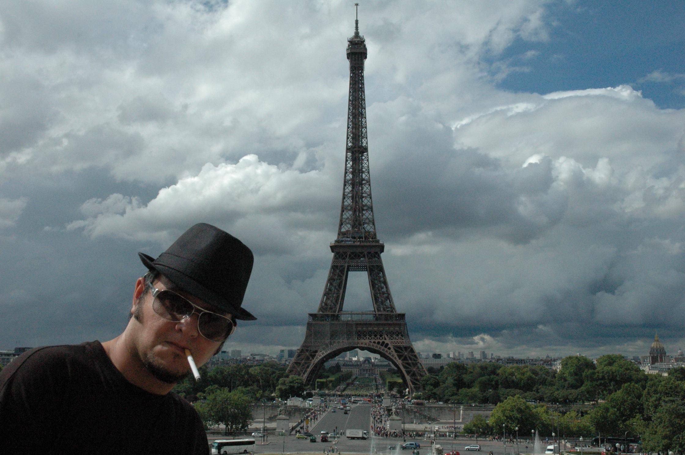 Diego Molero en París