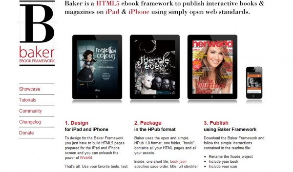 Baker Ebook Framework