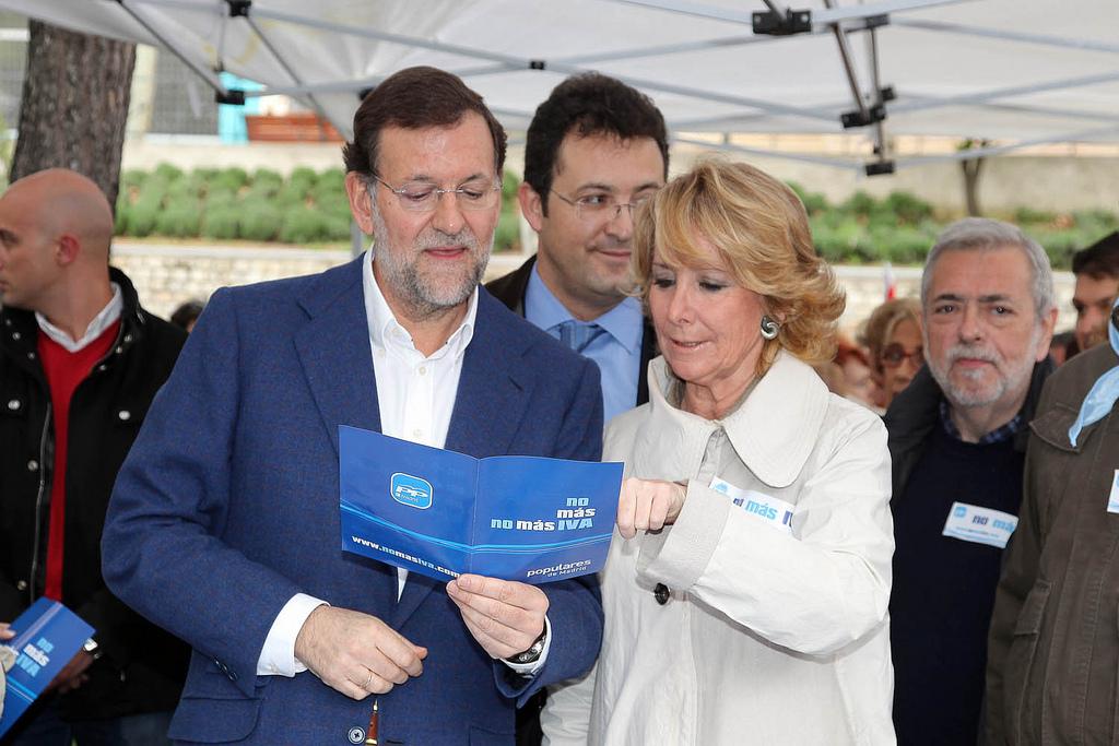 Campaña No Más IVA del PP de Madrid en 2010