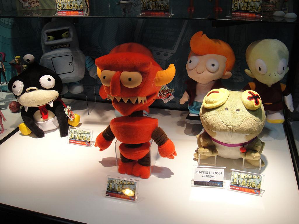 Muñecos de Futurama