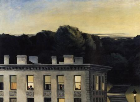 House at dusk, Hopper