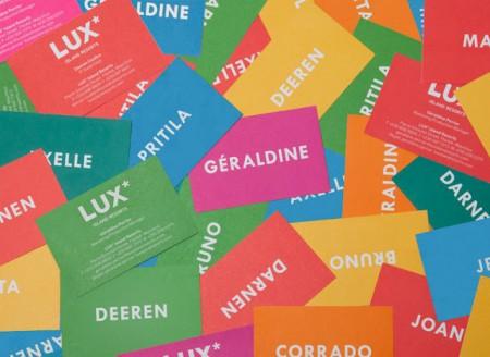 tarjetas de visita con color