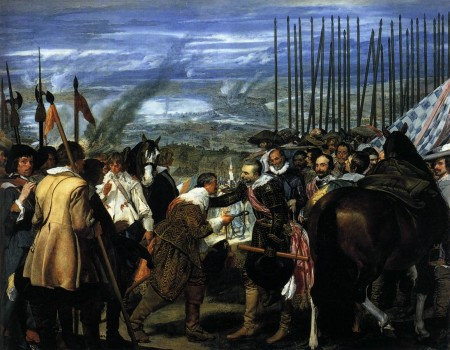 La rendición de Breda, Velázquez
