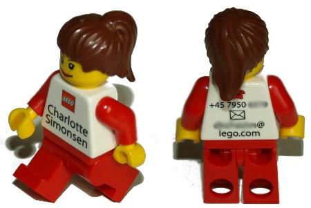 Tarjetas de visita de Lego