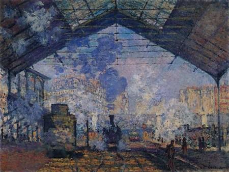 Gare de Saint Lazare, Monet
