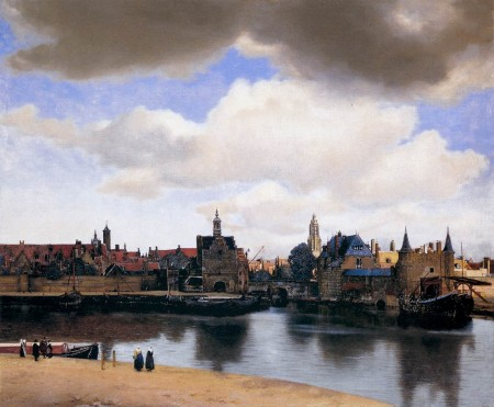 vista de Delft, Vermeer