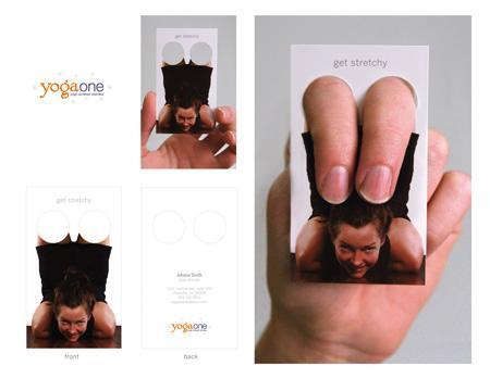 tarjeta de visita con foto