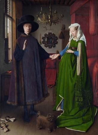 el matrimonio arnolfini de jan van eyck