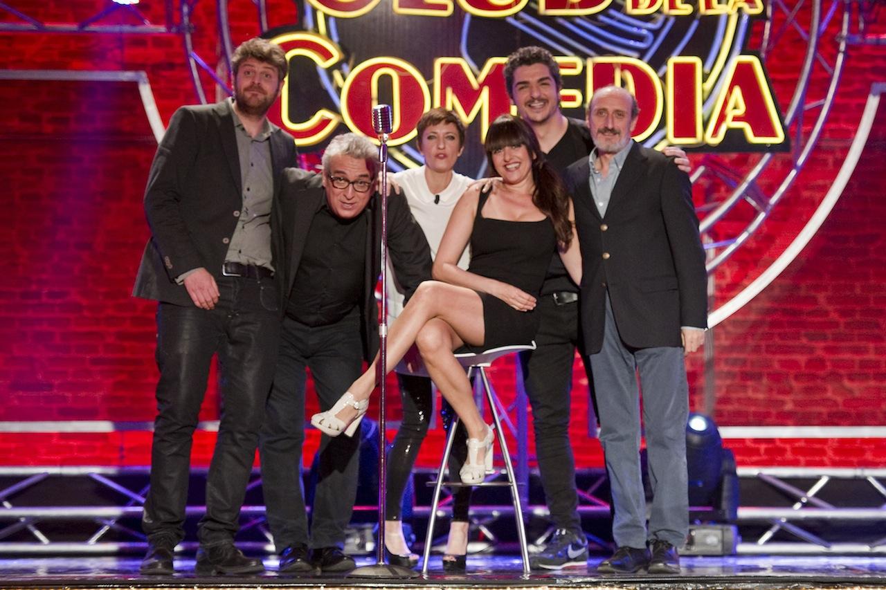 Leo-Harlem-Yolanda-Ramos-y-José-Luis-Gil-en-El-club-de-la-comedia