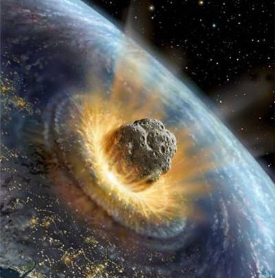 Impacto de asteroide gigante