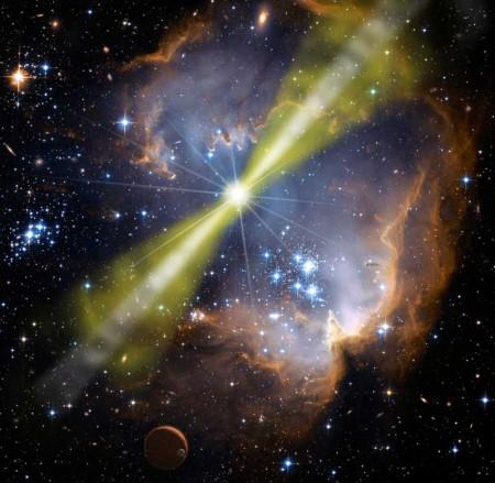 Brote de rayos gamma