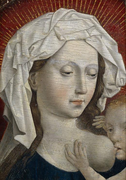 La Virgen de la Leche - Anónimo