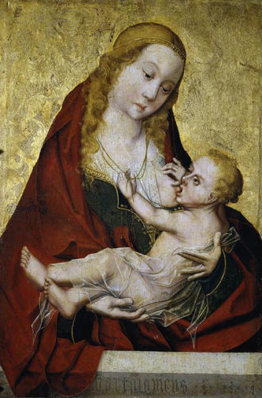 La Virgen de la Leche - Bartolomeus Bermejo