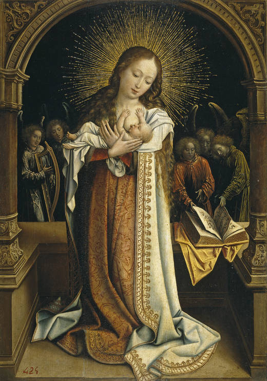 La Virgen de la Leche - Van Orley