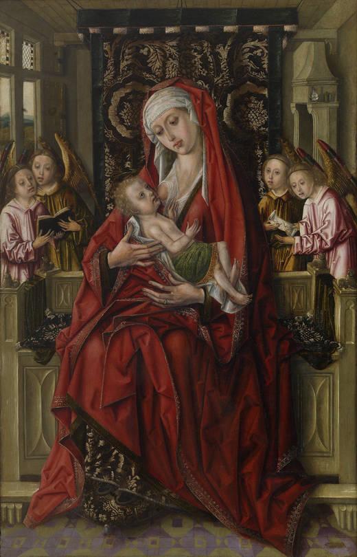 La Virgen de la Leche del Maestro - Don Álvaro de Luna