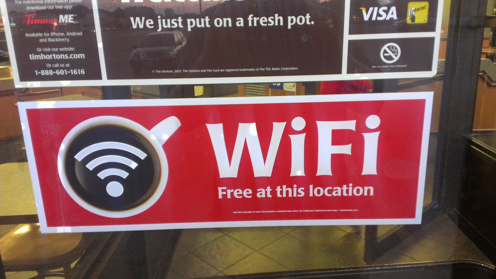 wifi free restaurant