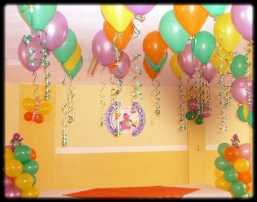Decoración Cumpleaños Globos