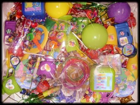 Sorpresas y chuches para cumpleaños