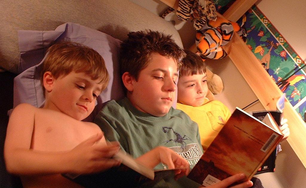 Una docena de consejos para hacer que a tus hijos les mole leer