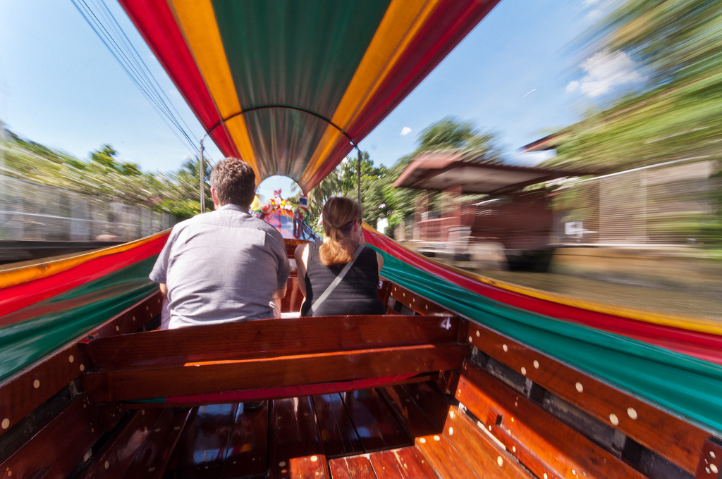 Speeding Through The Klongs