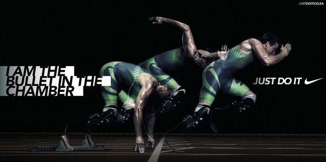 Oscar Pistorius Nike banned commercial