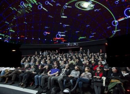 Planetario 3D CosmoCaixa Barcelona