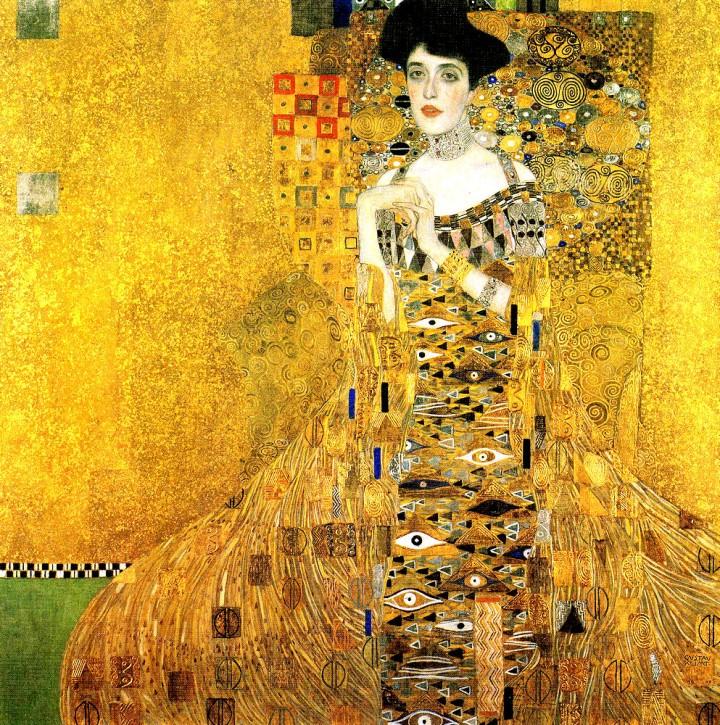 Retrato de Adele Bloch Bauer, de Gustav Klimt