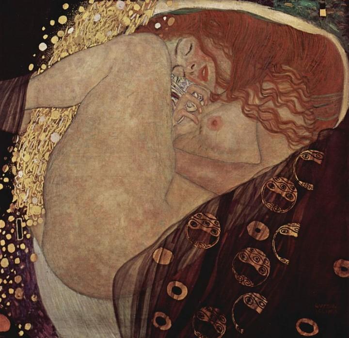 Dánae, de Gustav Klimt