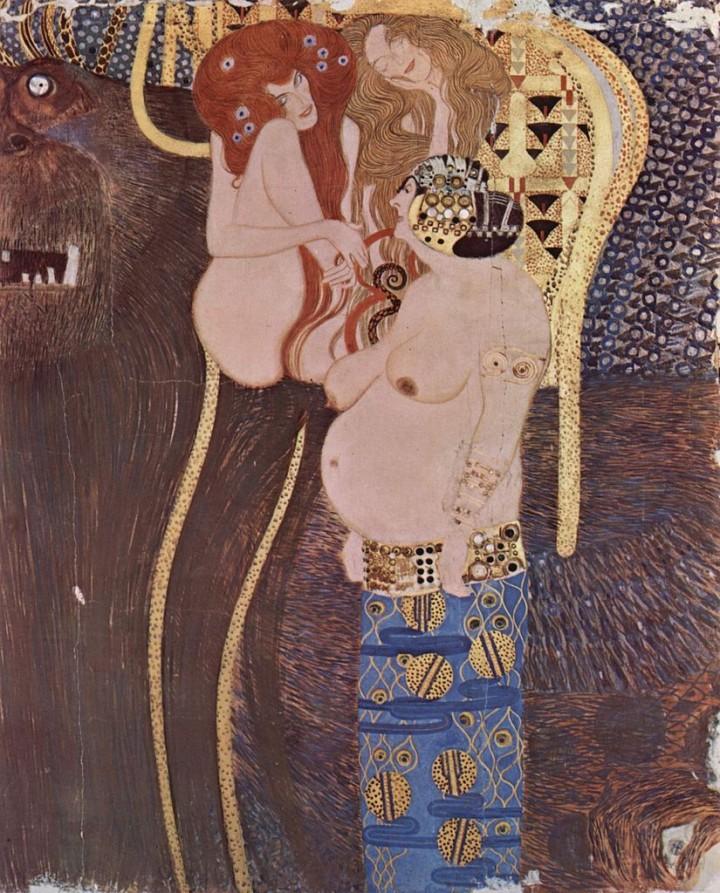 Friso de Beethoven, de Gustav Klimt