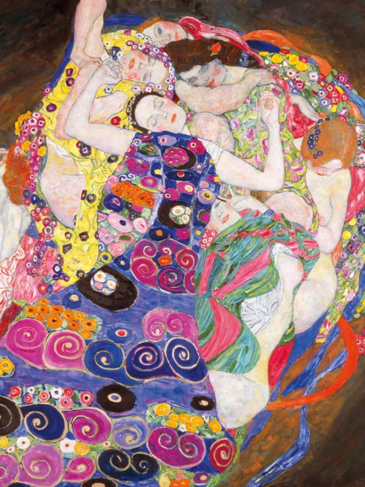 La Virgen, de Gustav Klimt
