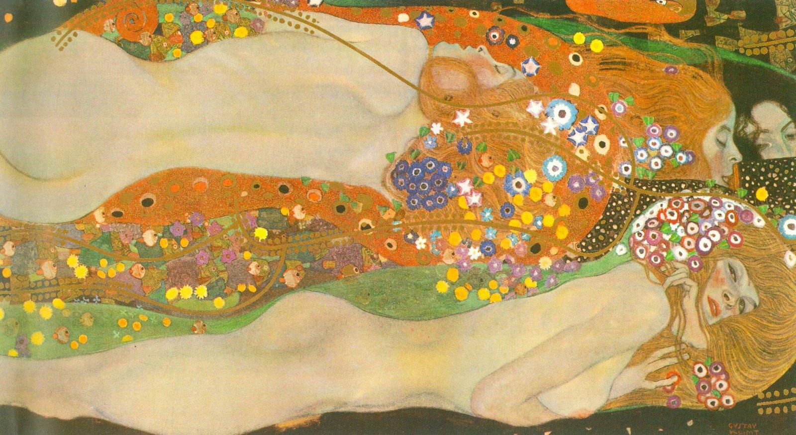 Serpientes de agua, de Gustav Klimt