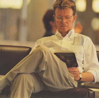 bowie reading