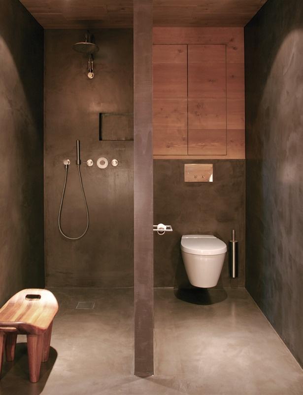 Baño Con Inodoro Separado:baño con los espacios separados