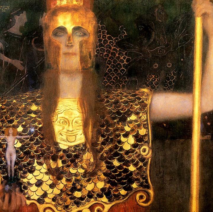 Palas Atenea, de Gustav Klimt