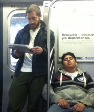 jake gyllenhaal reading