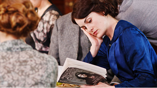 michelle dockery reading