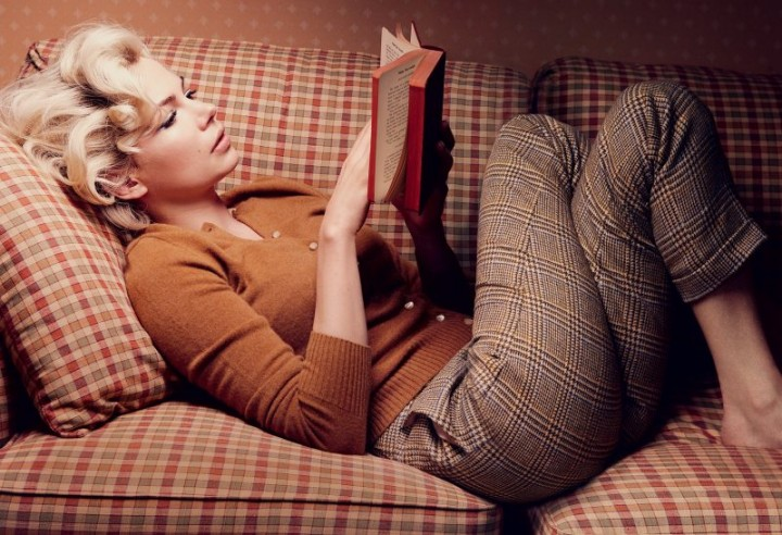 michelle williams reading