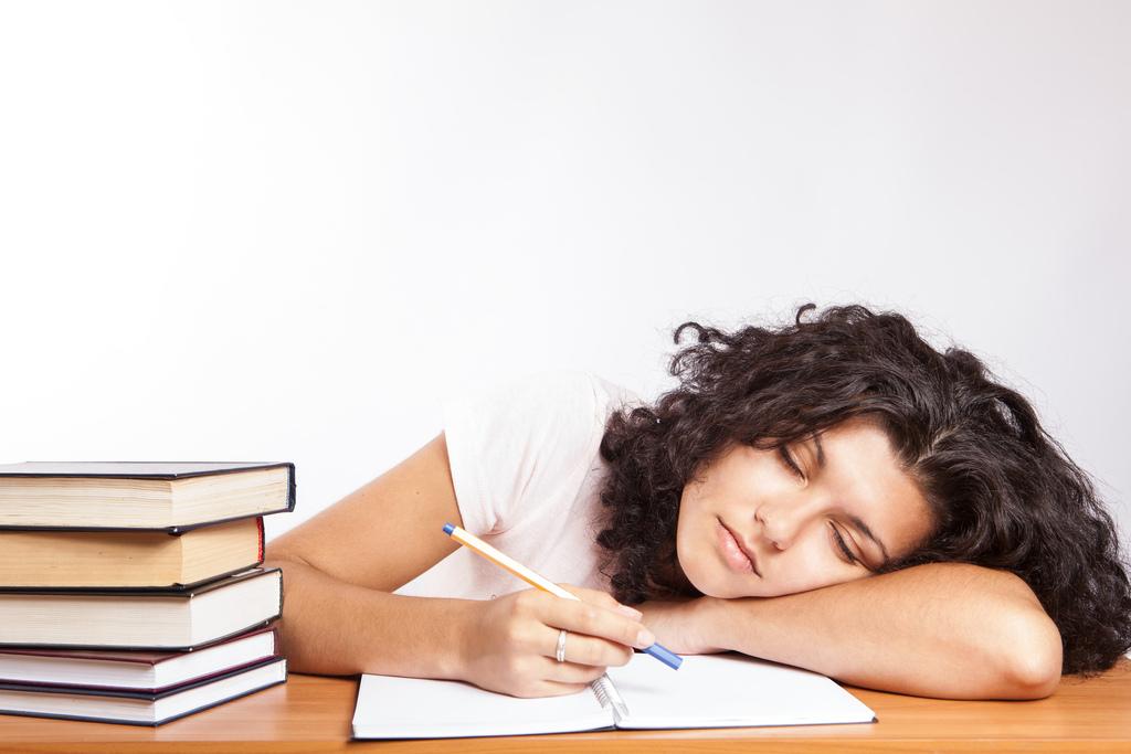 estudiante que se aburre